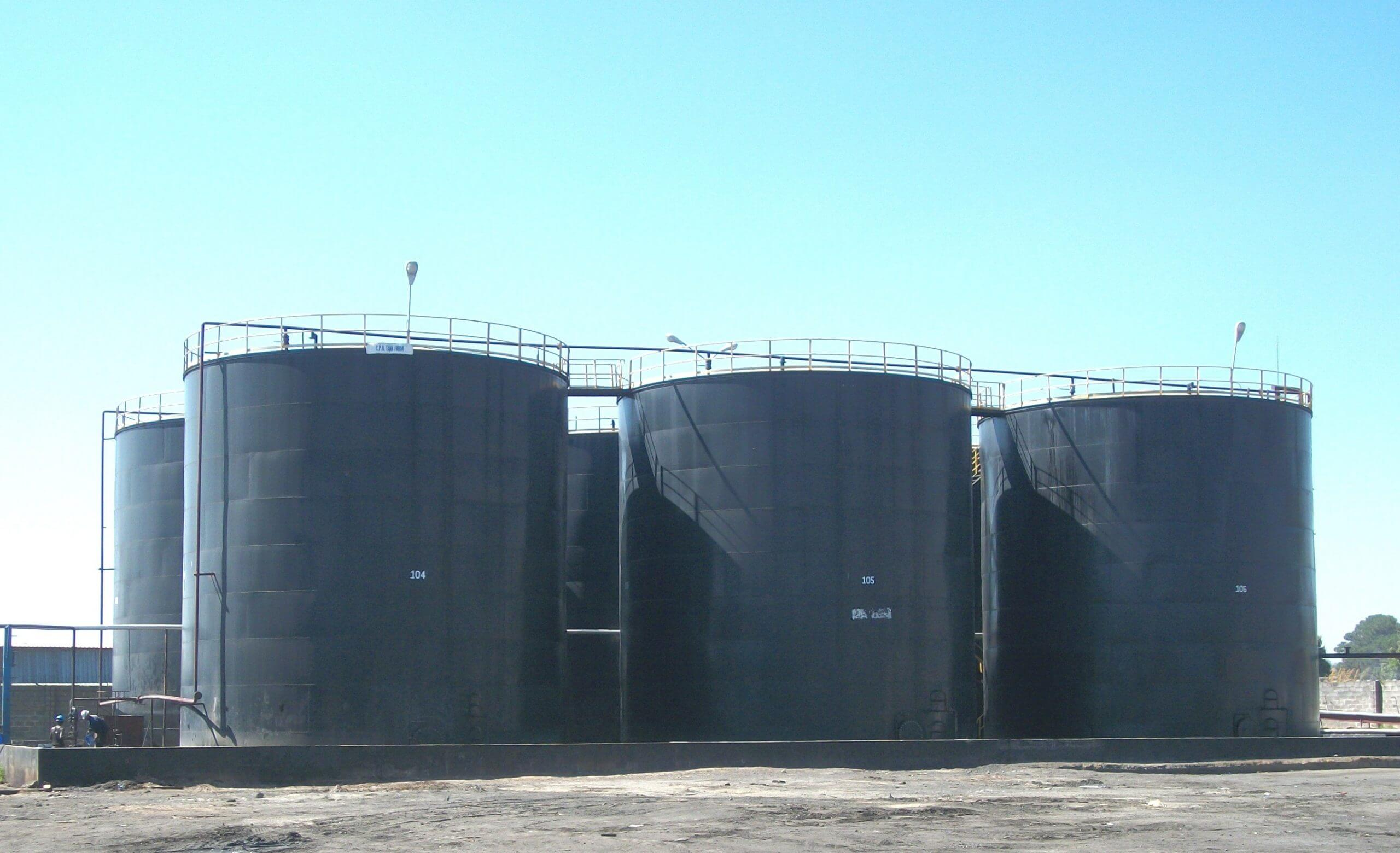 SS3591-2016-Tanks for Edible Oil-Zambia