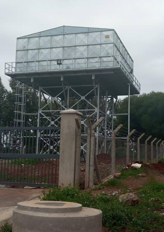 STT1131-SUPPLY OF PRESSED PANEL TANK AND TOWER - TILISI DEVELOPMENT - L