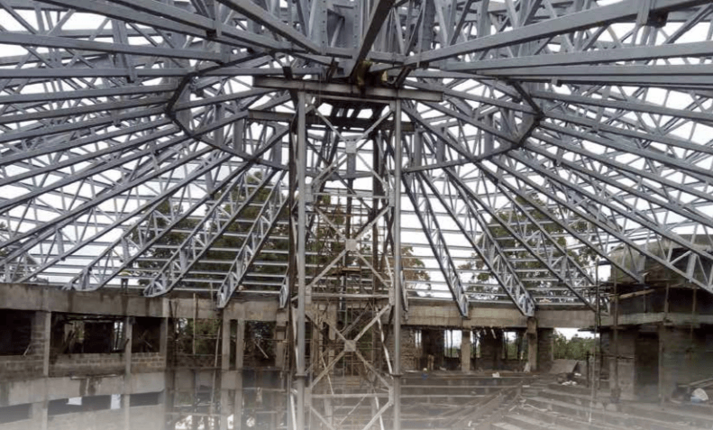 Roof Works for a Church in Karengeta