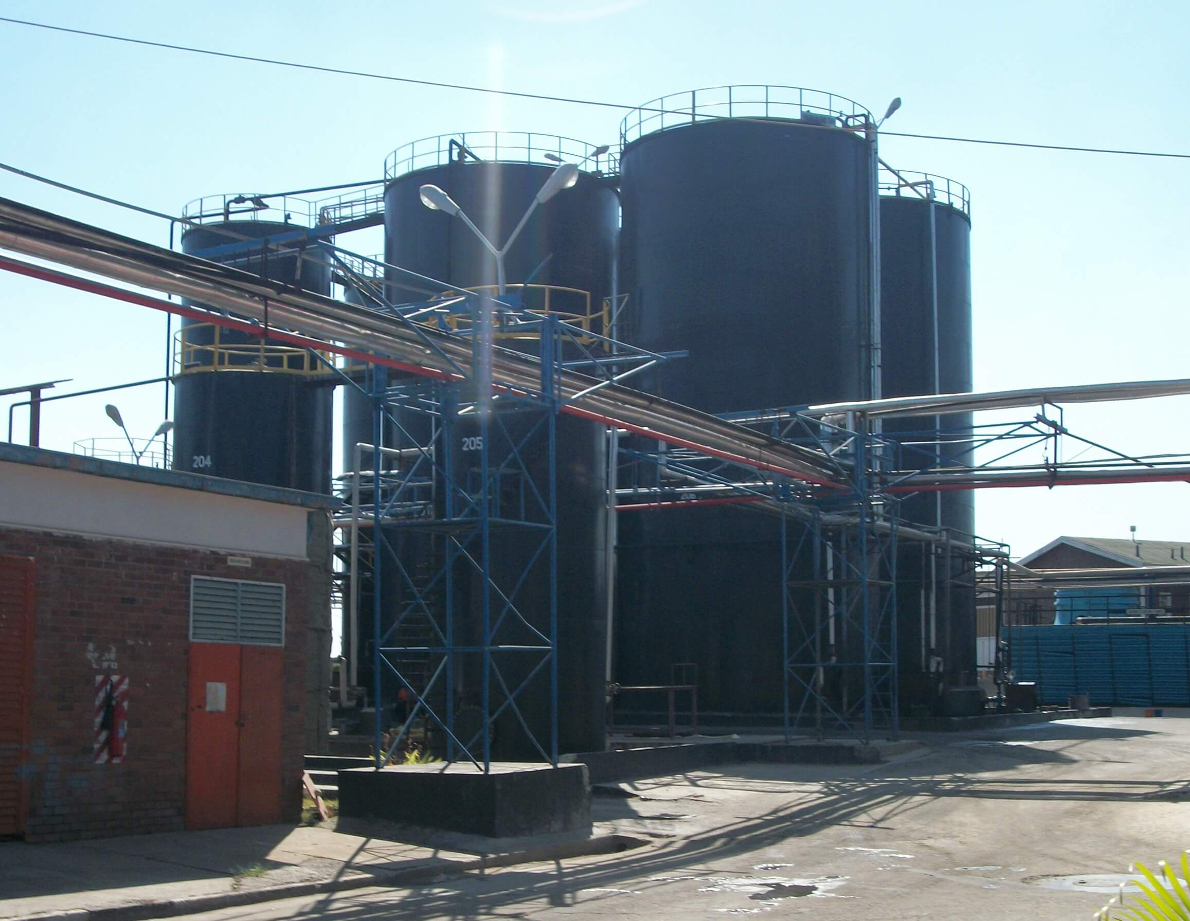 SS3591-2016-Tanks for Edible Oil-Zambia.
