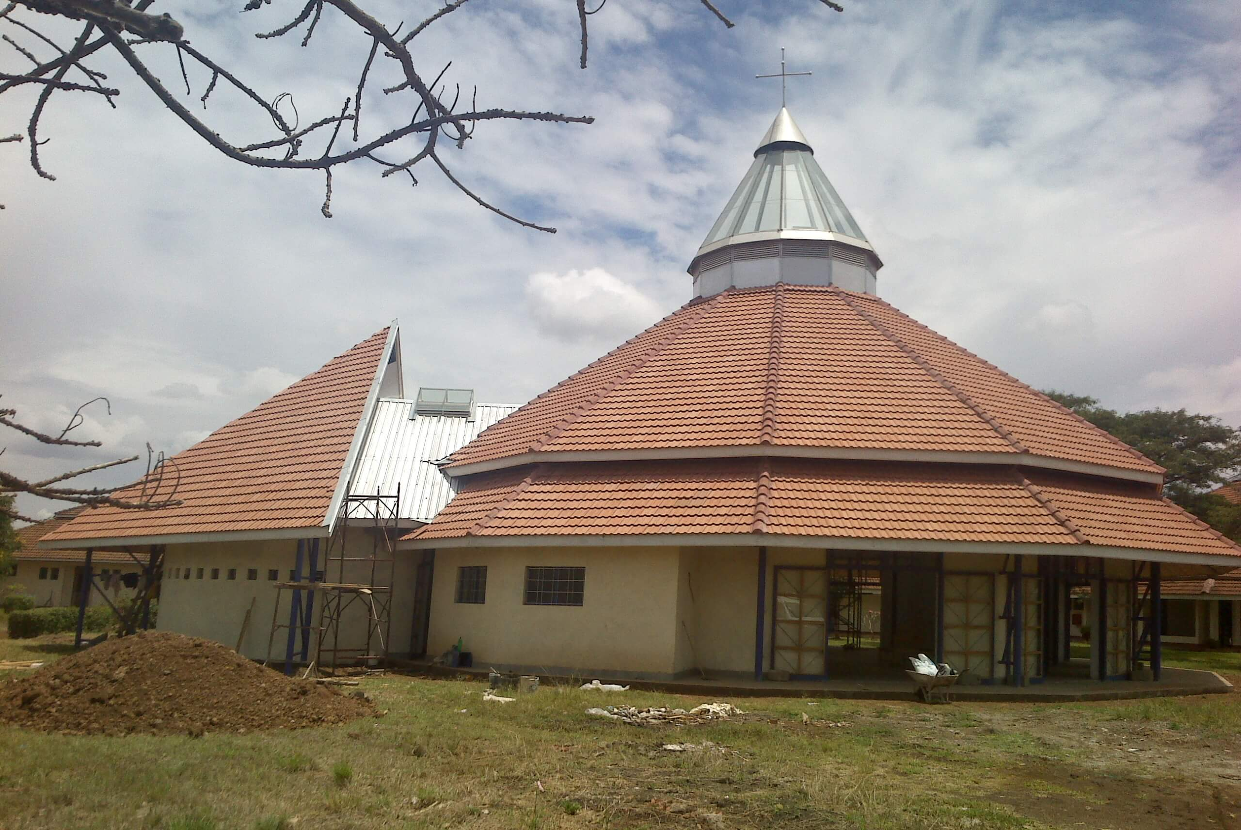 Church Roof Structure Kenya