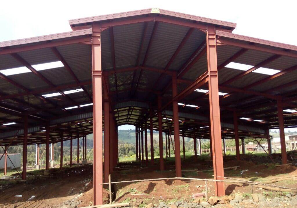 COW SHED in OL KALOU